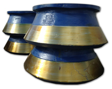 Crusher Spares - wear resistant castings for cone crushers
